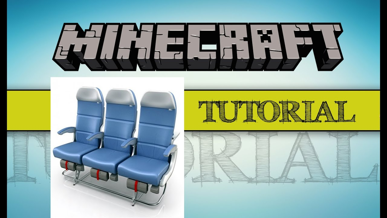 Minecraft | Top 7 Airplane Seats/ Chairs