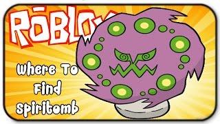 Roblox Pokemon Brick Bronze - How To Catch Spiritomb