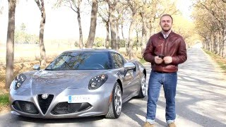 Prueba Alfa Romeo 4C - ActualidadMotor