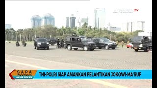 TNI-Polri Siap Amankan Pelantikan Jokowi-Ma'ruf