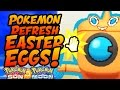 TOP 5 EASTER EGGS IN POKEMON REFRESH in Pokemon Sun and Moon!