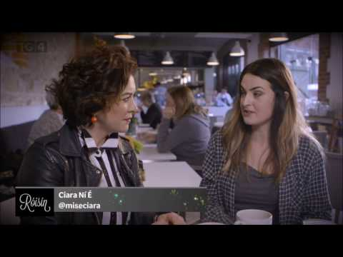 Ciara Ní É,  REIC ar TG4 (Irish bilingual spoken word on Róisín, TG4)