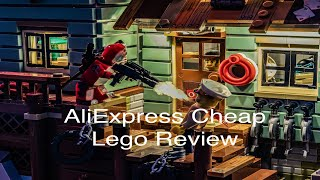AliExpress Cheap 'Fake' Lego Review - Old Fishing Store 21310