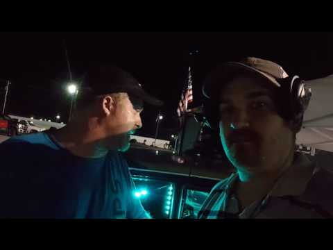 Artie and Bombers Driver Kane Interview at Mobile International Speedway 7/30/16