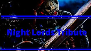 Warhammer 40k Night Lords Tribute Powerwolf Let There Be Night