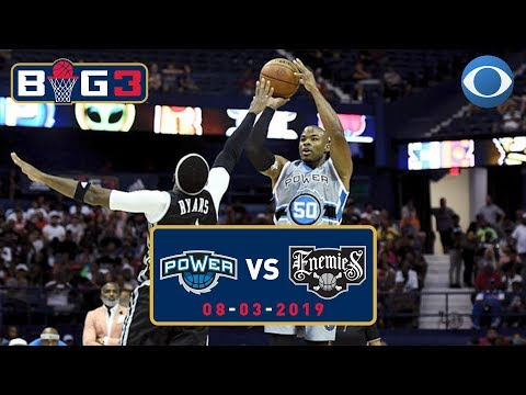 Corey Maggette and Power FLEX on the Enemies   Big3 Highlights   CBS Sports