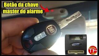 Como codificar ou programar o controle do alarme original Fiat
