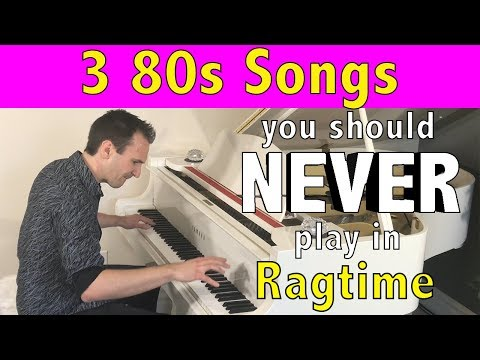 The Philips Phile - VIDEO: Pianist Performs 3 '80s Hits In Ragtime Style