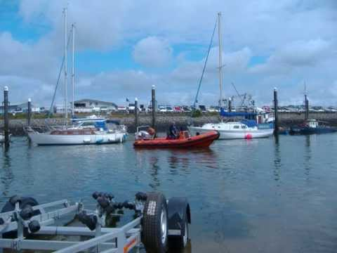 Powerboat training course N. Wales .wmv