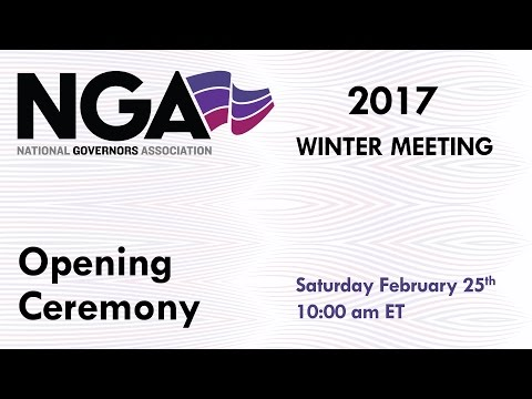 NGA 2017 Winter Meeting - Opening Ceremony
