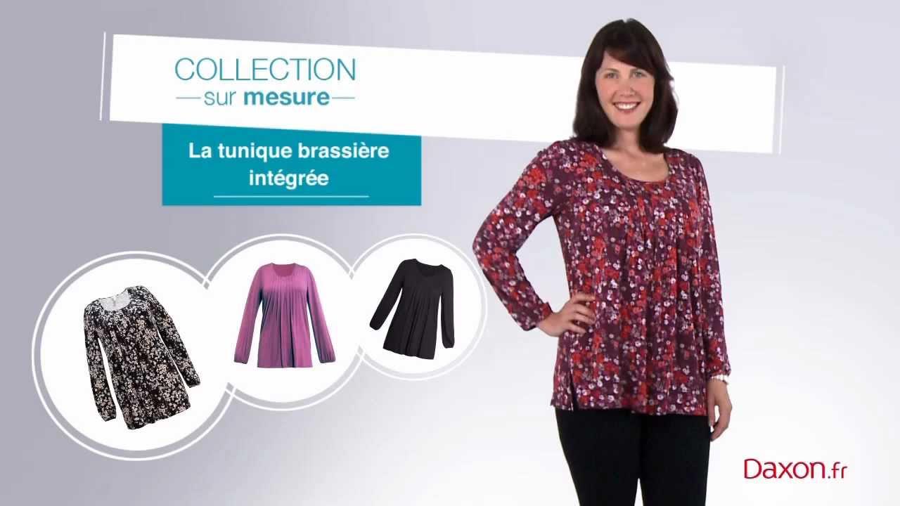 style de mode bon marché mode de vente chaude La tunique à brassière intégrée DAXON