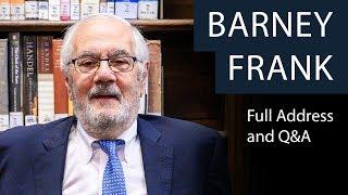 Barney Frank | Full Address and Q&A | Oxford Union