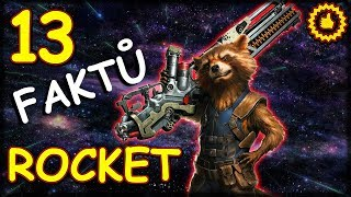 13 FAKTŮ: Rocket Raccoon