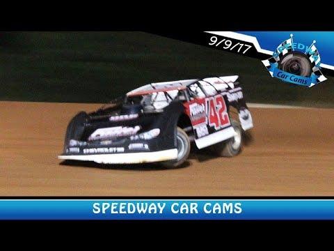 #42 Kasey Hall - Super Late Model - 9-9-17 Fort Payne Motor Speedway - In Car Camera