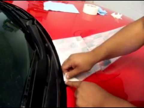 Camaro Racing Stripes Installation