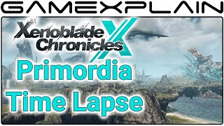 Xenoblade Chronicles X - Primordia 24-Hour Time Lapse