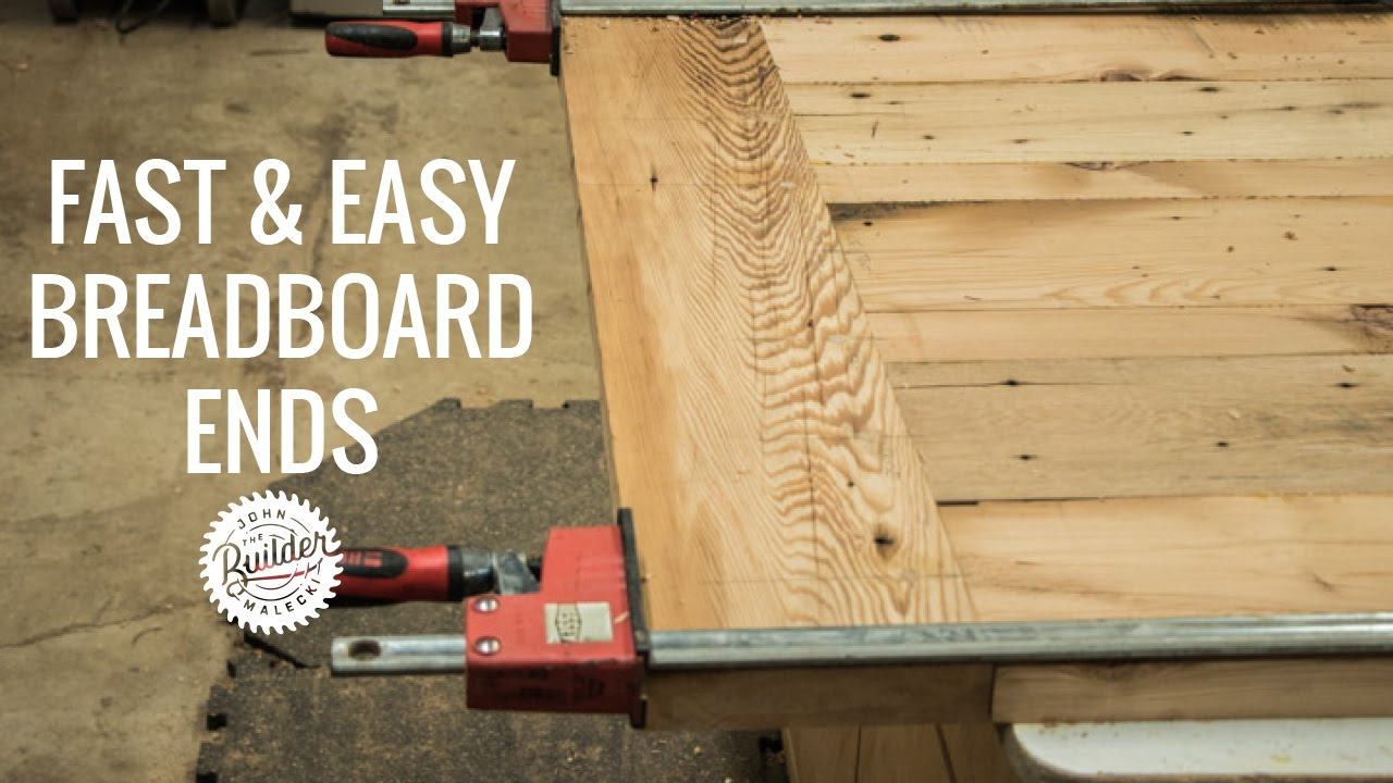 Create Woodworking Breadboard Ends Quick And Easy Youtube