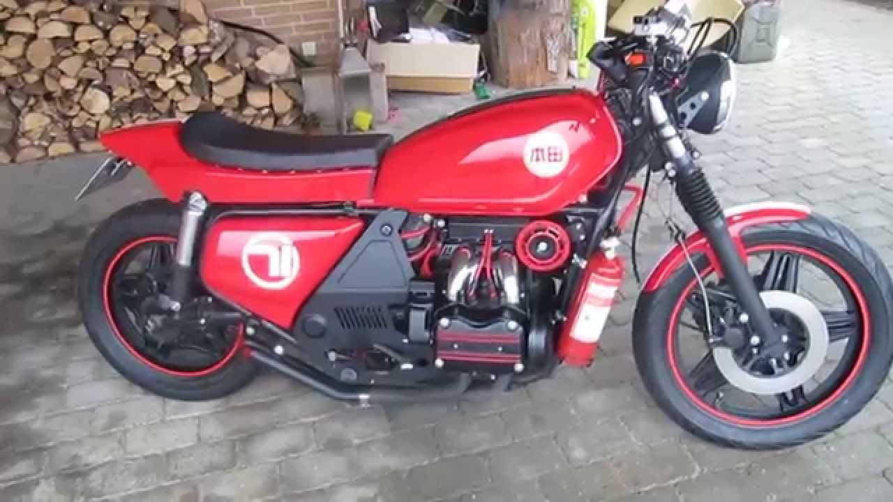 Honda Parts Cheap >> Honda Goldwing GL 1100 Café Racer/ Street Tracker - YouTube