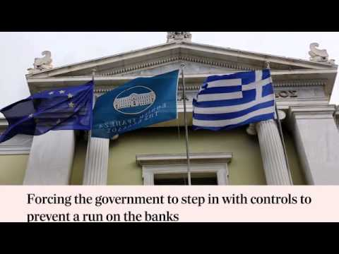 Video  What would happen if Greece leaves the Euro  In 60 seconds   Telegraph
