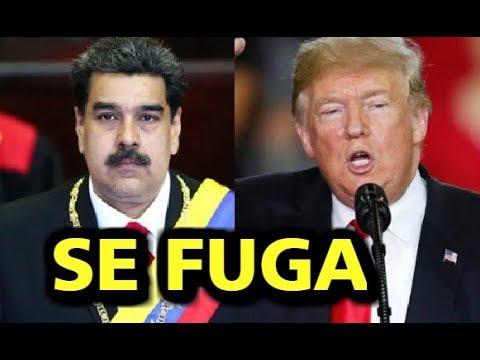 ¡ULTIMO MINUTO! NICOLAS MADURO SE FUGA DE VENEZUELA, ADVIERTE LUIS ALMAGRO, URGENTE