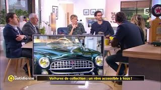 Voitures de collection : un rêve accessible à tous !