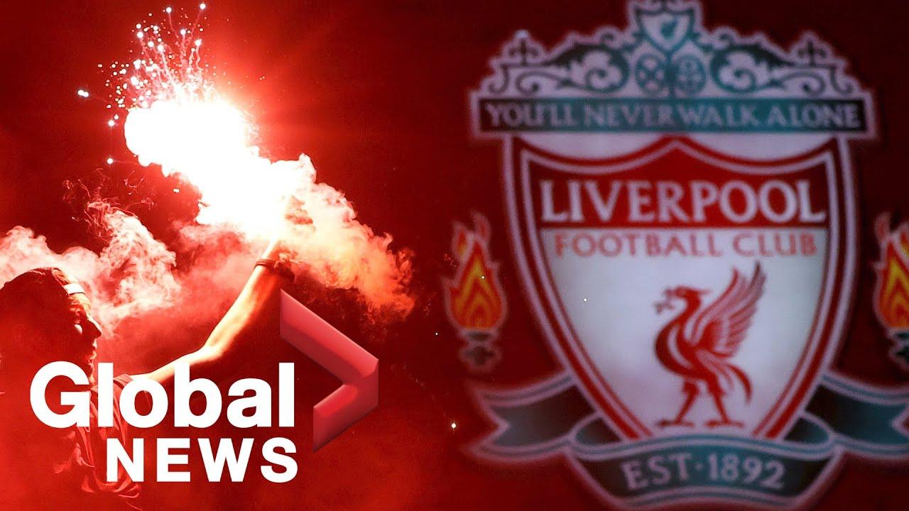 Liverpool ends 30-year drought, clinches Premier League title