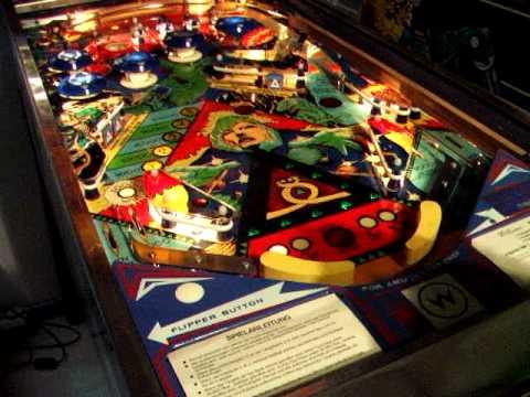 time warp pinball machine