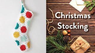 vuclip Crochet Christmas Stocking