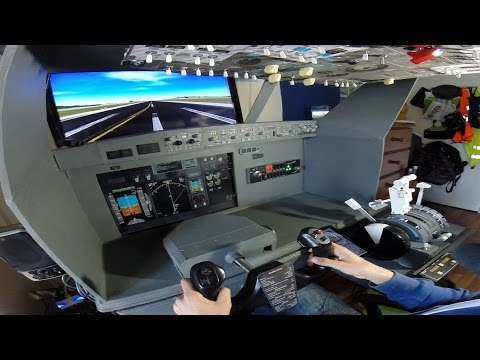 PMDG 737 Home Cockpit LGAV-LGMK - Holy Light Transport Event on IVAO - FSX Online