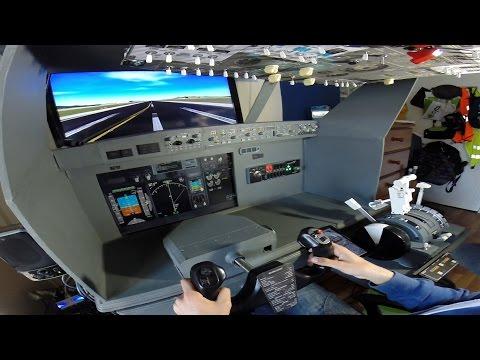 PMDG 737 Home Cockpit LGAV-LGMK - Holy Light Transport Event on IVAO - FSX Online