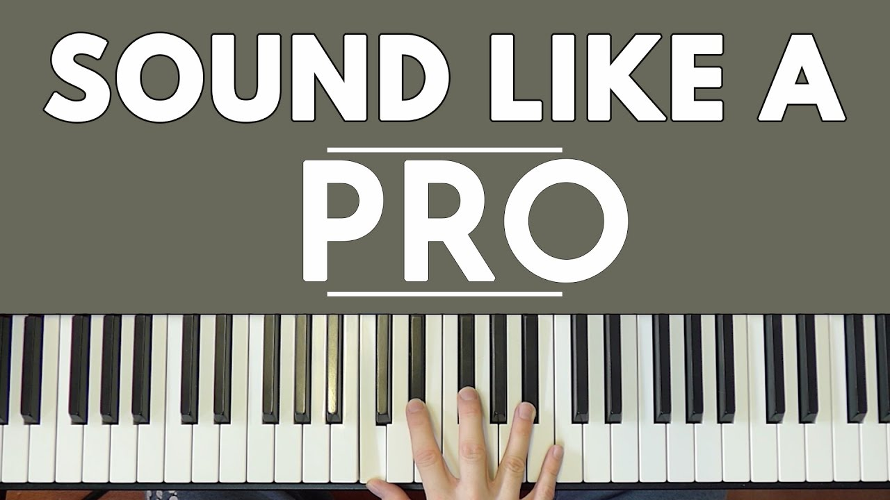 A Simple Trick To Make You Sound Like A Pro - YouTube