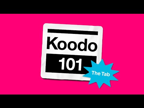 What is the koodo tab? - koodo 101