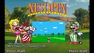 NES Open Tournament Golf Hyperspin Theme