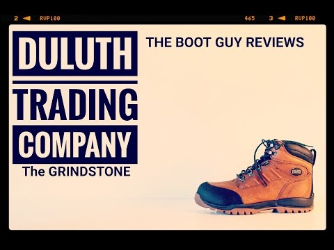 DULUTH TRADING CO. GRINDSTONE [ The Boot Guy Reviews ]