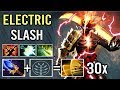 30x Slashes Scepter Juggernaut Max Attack Speed Tactic is The Best Crazy Top Rank Gameplay Dota 2