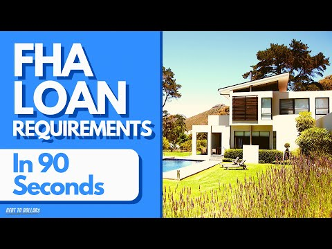 first-time-home-buyer-programs-2020-|-fha-loan-requirements-in-90-seconds
