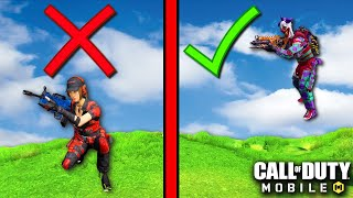HOW TO GET BEṪTER MOVEMENT in BATTLE ROYALE! | CALL OF DUTY MOBILE | SOLO VS SQUADS