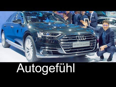 2018 Audi A8 vs A8L REVIEW Exterior/Interior Feature @ IAA 2017 - Autogefühl