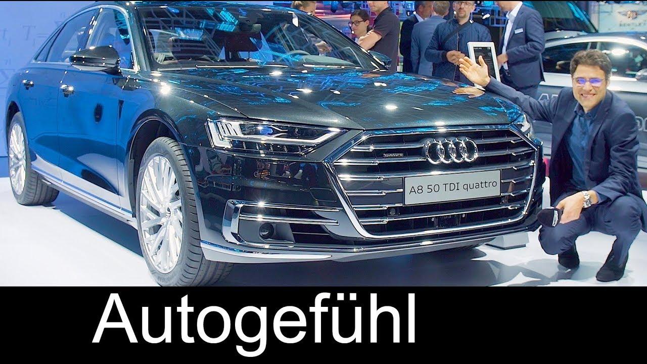 2018 Audi A8 Vs A8l Review Exterior Interior Feature Iaa 2017