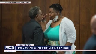 Tensions flare: Lightfoot, alderwoman clash at Chicago City Council meeting