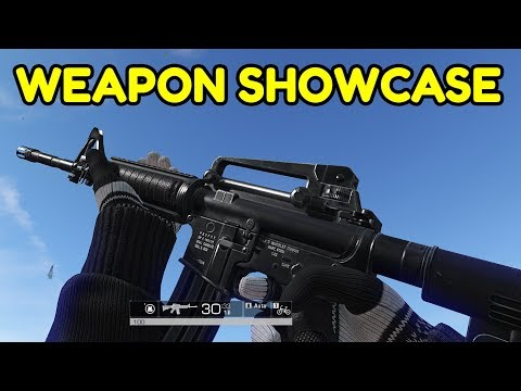 Ring of Elysium - ALL Weapons Showcase