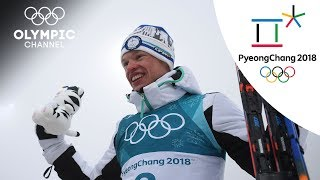 Iivo Niskanen gets Finland's 1st Gold Medal after 50km | Day 15 | Winter Olympics 2018 | PyeongChang