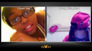 me and my friend on oovoo