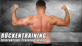 Rückentraining - Hanteltraining zuhause - Fitnessplan