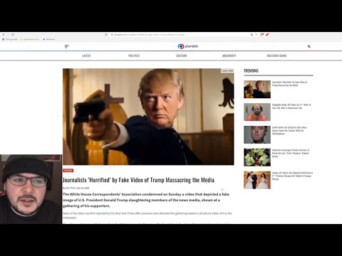 Journalist Fake Outrage Over Trump Video Meme Is HYPOCRISY At Its Finest