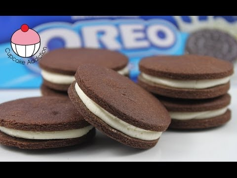 Homemade OREO Cookie Recipe! Make DIY Oreo Cookies from Scratch with Cupcake Addiction