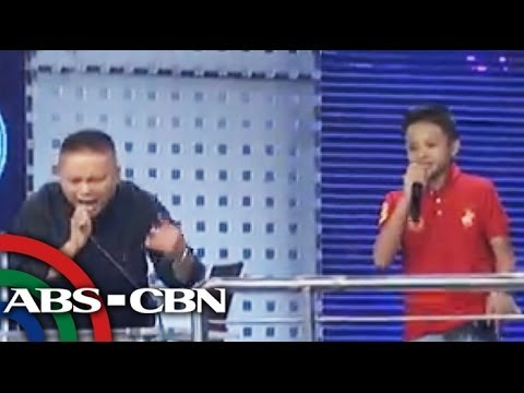 Andrew E's son raps on new 'Showtime' contest MiniMe