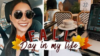 REAL Fall Day in My Life - Workout, GRWM, & Meetings