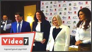 برنامج الملكة يكرم السفيرة هيفاء أبو غزالة والإعلامية منى عراقى للعمل لصالح المرأة
