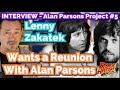 Capture de la vidéo Lenny Zakatek Wants An Alan Parsons Project Reunion
